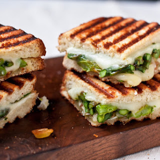 Goat Cheese & Asparagus Grilled Cheese