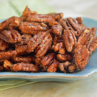 Sweet, Spicy & Salty Candied Pecans