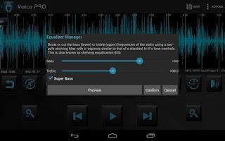 Screenshot of Voice PRO - HQ Audio Editor