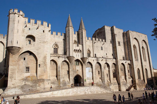 Scenic-Cruises-France-Popes-Palace - Scenic Emerald guests in Avignon will marvel at the Pope's Palace, a 14th century Gothic architecture that used to house sovereign pontiffs. It's known for its frescoes and chapels.