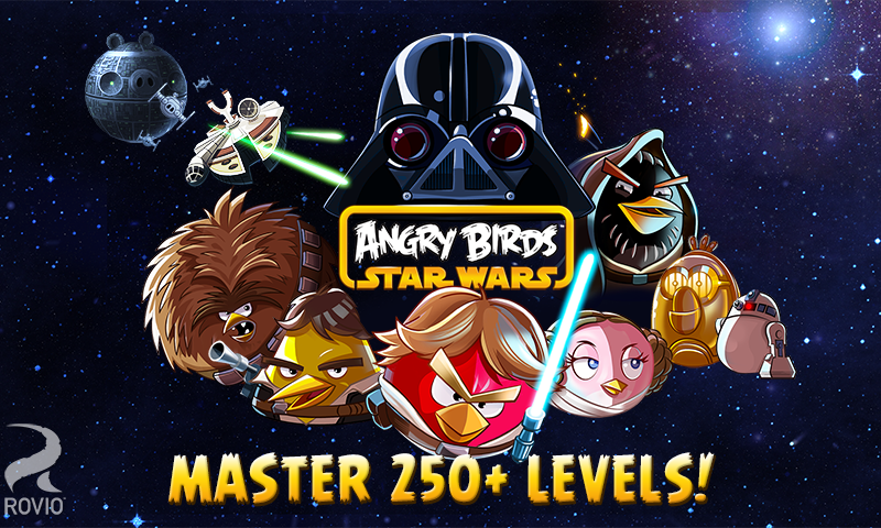 Angry Birds Star Wars screenshot #1
