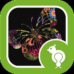 Go Locker Colorful Butterfly