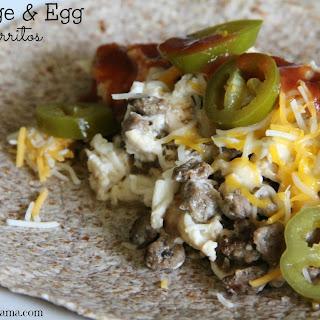 Sausage & Egg Burritos