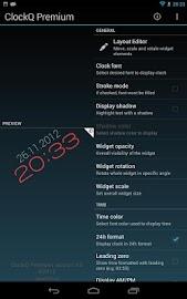 ClockQ - Digital Clock Widget Screenshot 7
