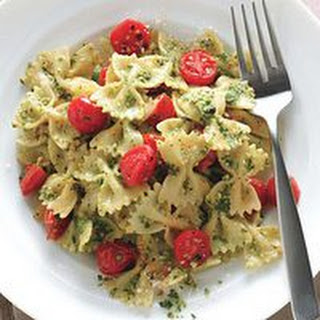 Cashew-Pesto Pasta.