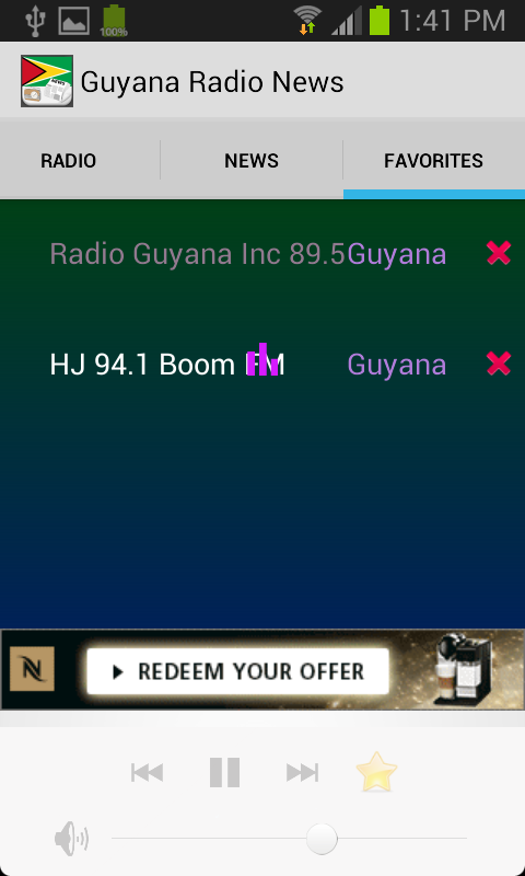 Guyana Radio News - screenshot