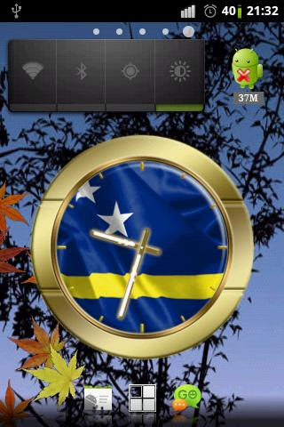Curacao flag clocks - screenshot