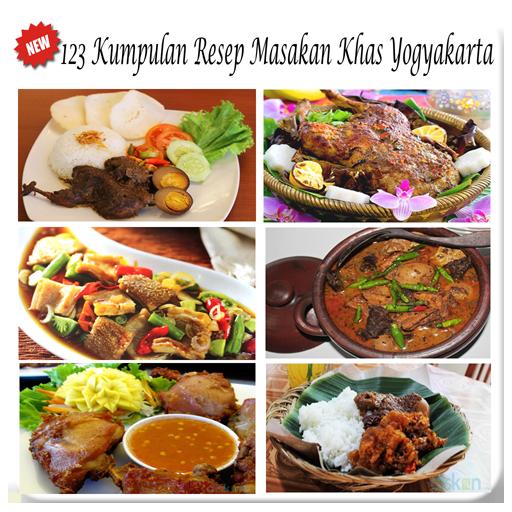 123 Resep Masakan Yogyakarta
