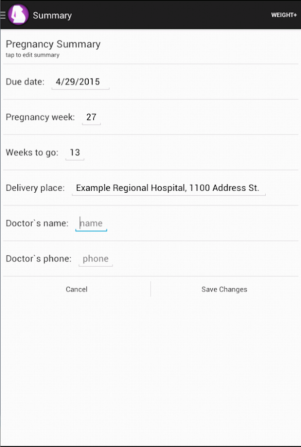 App Labor Contractions Calculator APK for Windows Phone ...