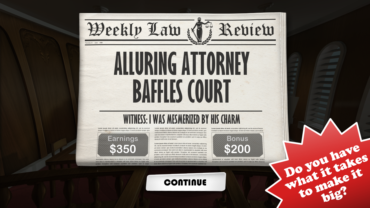 Devil's Attorney - screenshot