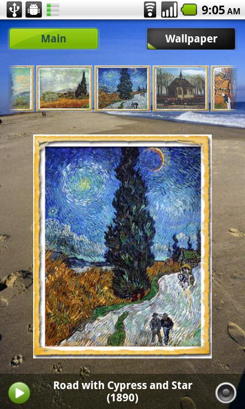 Gogh Gallery & Puzzle 2.0 - screenshot