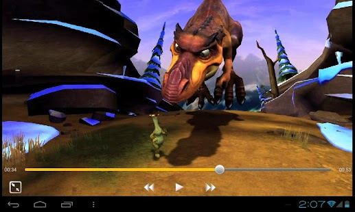 تحميل البرنامج الرائع مشغل الفيديو والصوت 100tv HD player