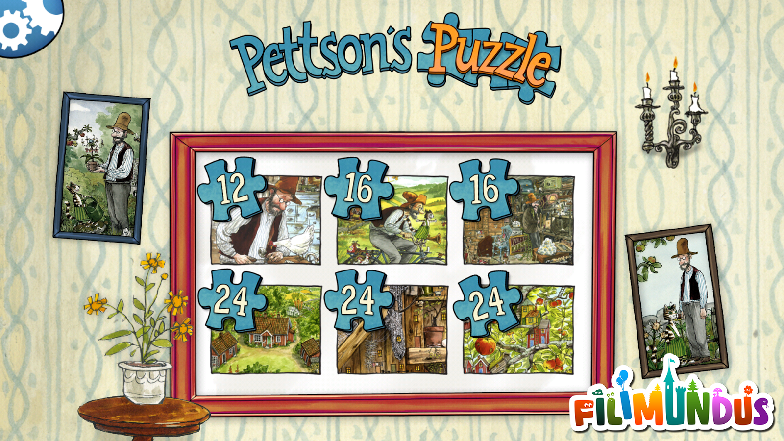 Pettson's Jigsaw Puzzle - screenshot