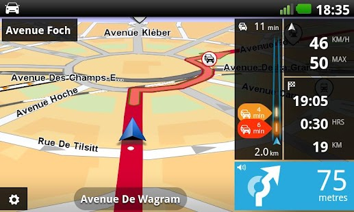 Europe GPS Navigation TomTom - screenshot thumbnail