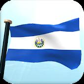 El Salvador Flag 3D Free