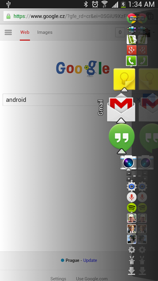 Dock4Droid Unlock - screenshot