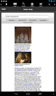Touch Bible (KJV + Strong's)- screenshot thumbnail