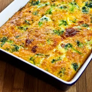 Broccoli Cheese Breakfast Casserole