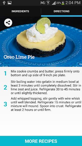 Oreo Lime Pie Recipes