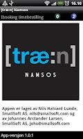 Screenshot of [træ:n] Namsos