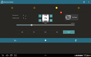 Screenshot of Metronome Beats