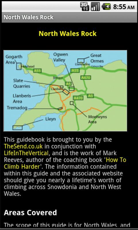 North Wales Rock Climbing Lite- screenshot