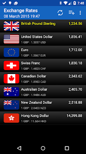 Exchange Rates (Donate) - screenshot thumbnail