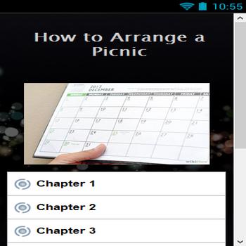 How to Arrange a Picnic
