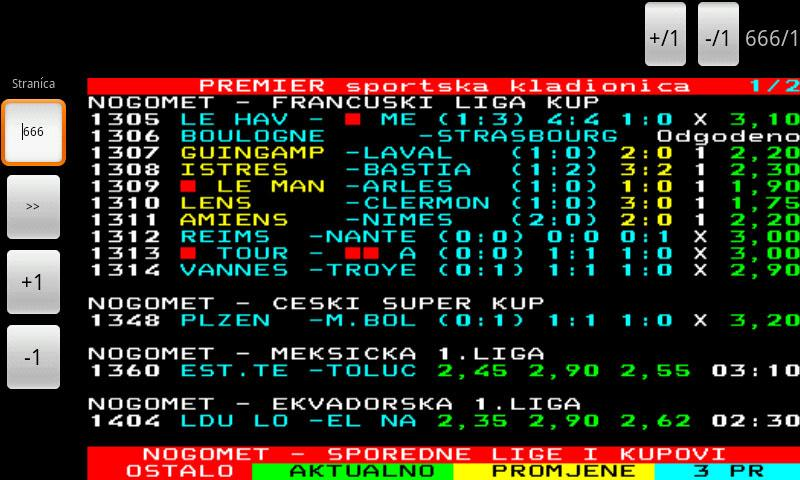 FTV Teletekst - screenshot