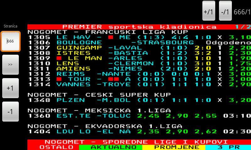 FTV Teletekst - screenshot