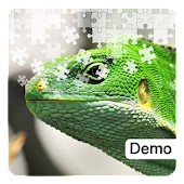 Lizard Jigsaw Puzzles Demo