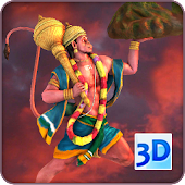 3D Hanuman Live Wallpaper