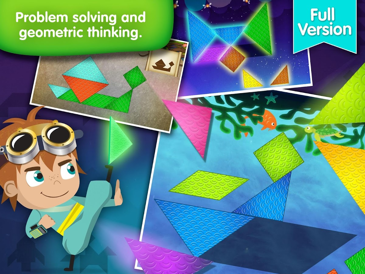 Dragon Shapes - Lumio Geometry- screenshot