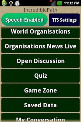 World Organisations - screenshot