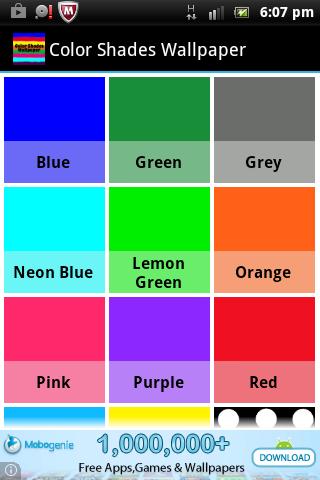 Color Shades Wallpaper
