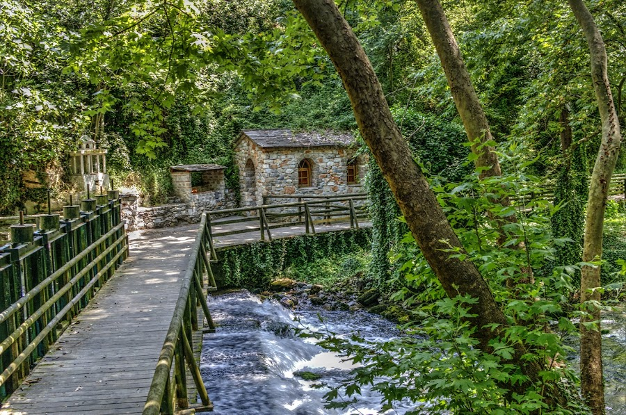 Maaras by Stratos Lales - City,  Street & Park  City Parks ( water, trees, cave, spring, river )
