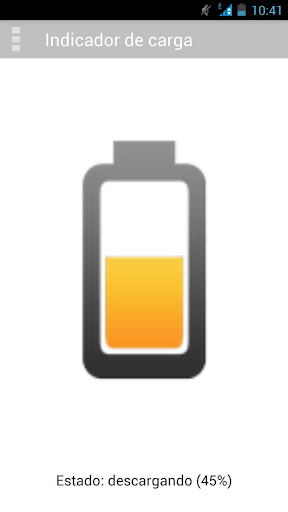 Full charge notificator