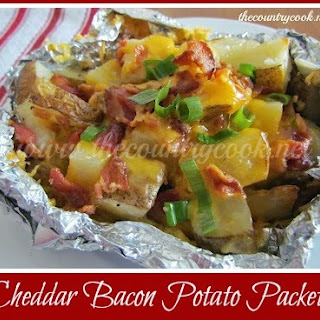 Cheddar Bacon Potato Packets.