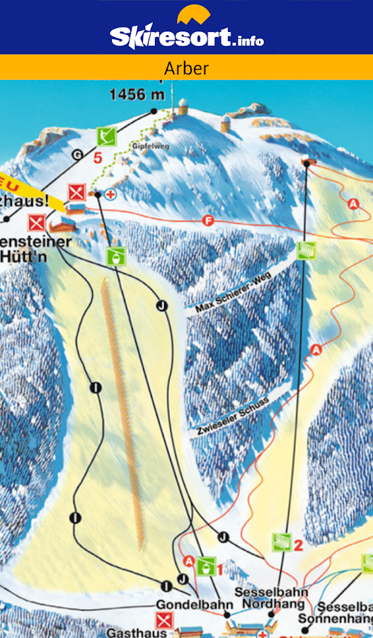 Skiresort.info – ski app - screenshot