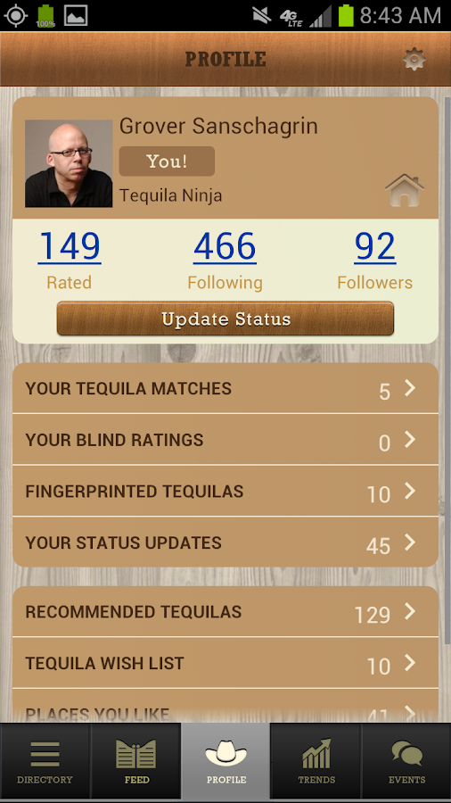 Tequila Matchmaker- screenshot