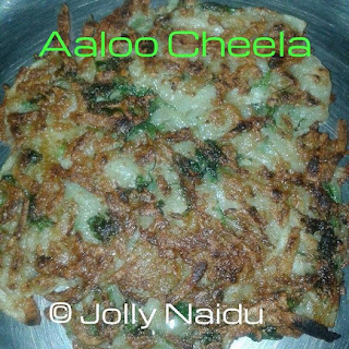 Crispy Aloo Cheela | Potato Pancake