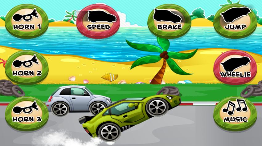 car game for toddlers kids screenshot