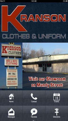 Kranson Clothes Uniforms
