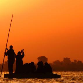 Nal Sarovar by Pratik Raibagkar - Landscapes Waterscapes