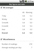 Screenshot of Glucool Diabetes