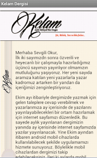 Kelam Dergisi - screenshot thumbnail
