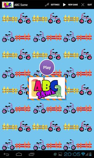 ABC匹配游戏学习。