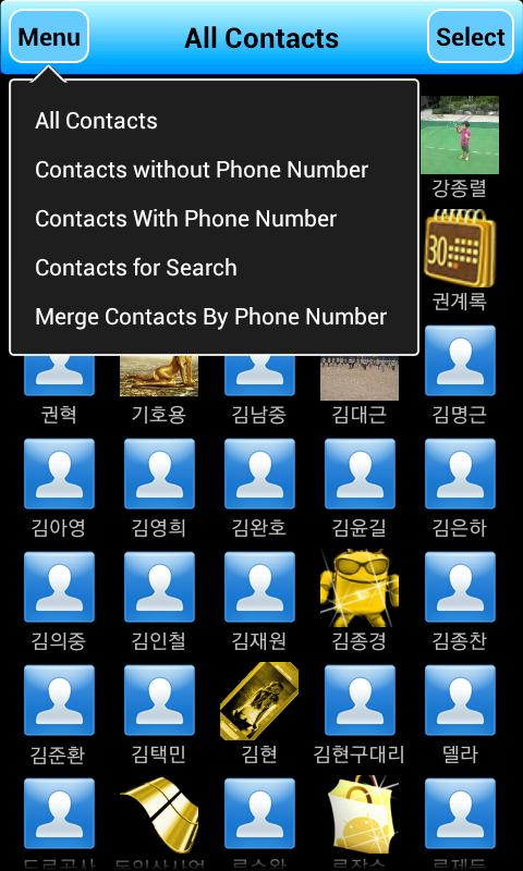 Contact Cleaner - screenshot