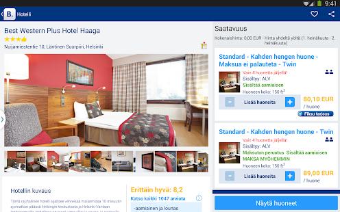 Booking.com – hotellit netissä – pikkukuva kuvakaappauksesta