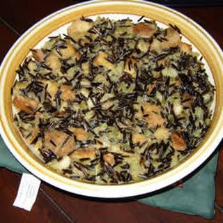 Wild Rice Stuffing for Turkey.